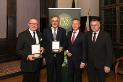 The bearers of the Max Schönleutner Medal 2019 with their laudators.